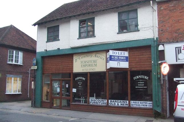 Thumbnail Retail premises to let in 13 Brown Street, Salisbury, Wiltshire