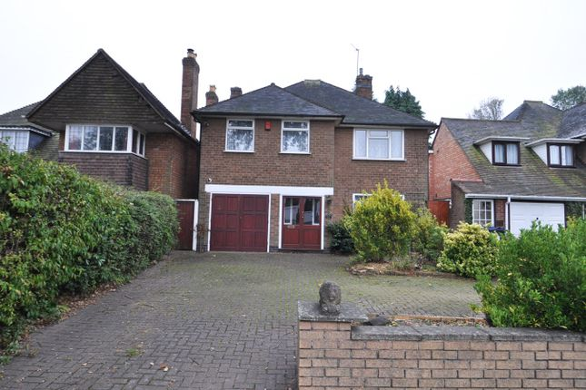 Thumbnail Detached house to rent in Wheelers Lane, Birmingham
