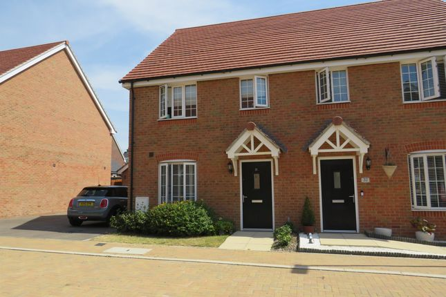 Thumbnail Semi-detached house for sale in Jade Way, Crawley
