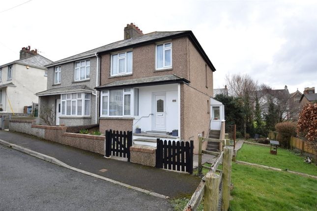 Thumbnail 3 bed semi-detached house for sale in Fairfield Road, Bude