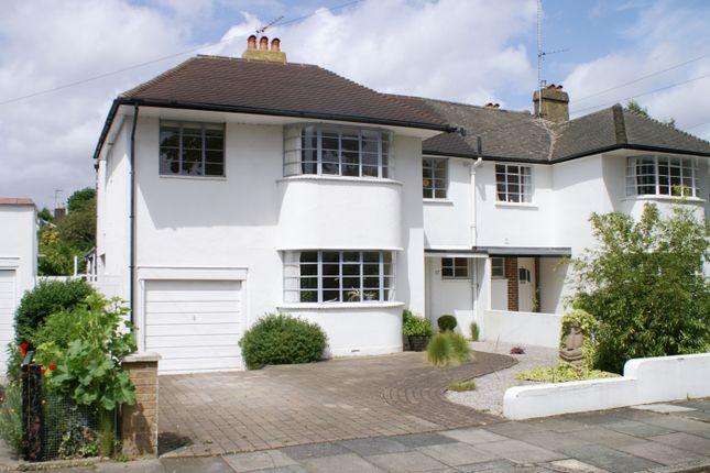 Thumbnail Semi-detached house to rent in Beresford Avenue, East Twickenham