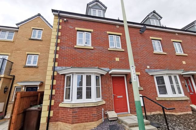 Thumbnail Terraced house for sale in Meadowland Close, Caerphilly