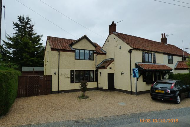 Thumbnail Cottage to rent in Low Road, Haddiscoe, Norwich