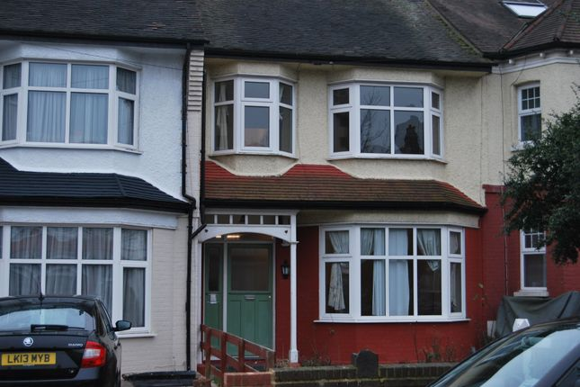 Thumbnail Terraced house to rent in Hamilton Crescent, Palmers Green, London