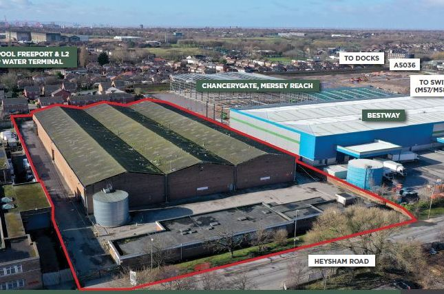 Thumbnail Industrial for sale in Heysham Road, Aintree, Liverpool