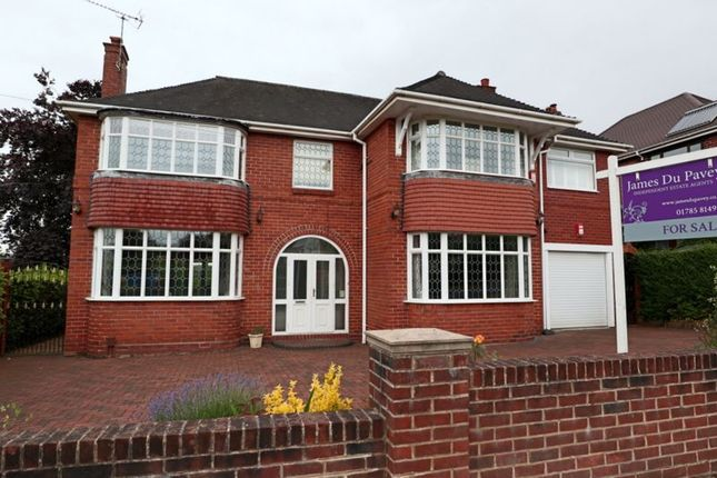 Thumbnail Detached house for sale in Boma Road, Trentham, Stoke-On-Trent