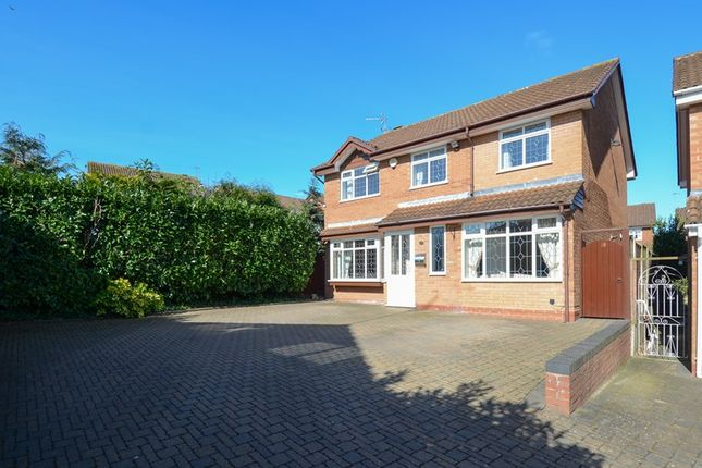 Thumbnail Detached house for sale in Wentworth Drive, Blackwell, Bromsgrove