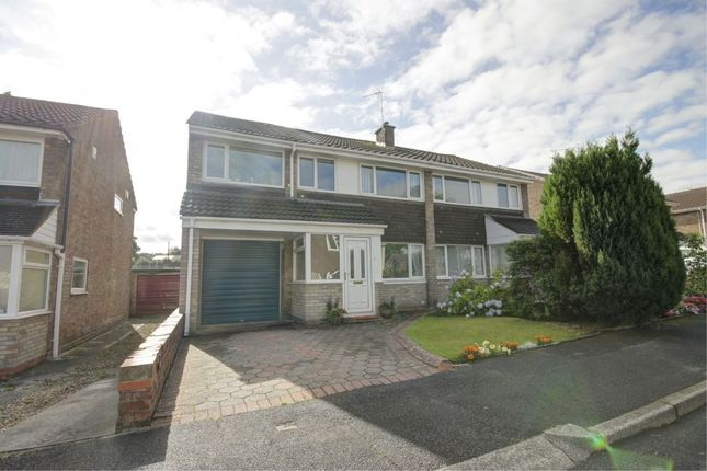 Thumbnail Semi-detached house for sale in Benfield Close, Shotley Bridge, Consett