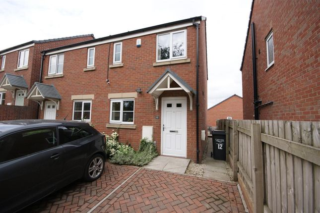 Thumbnail Semi-detached house to rent in Newson Court, Lightcliffe, Halifax