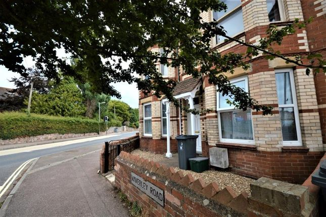 Thumbnail Flat to rent in Waverley Road, Exmouth, Devon