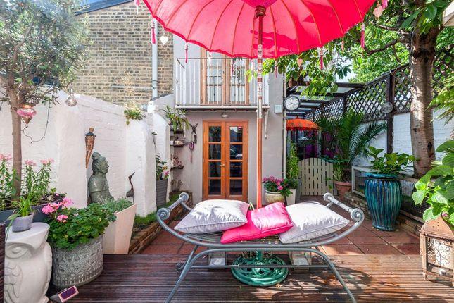 Garden of Shuttleworth Road, Battersea SW11