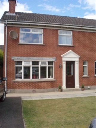 Thumbnail Semi-detached house to rent in Muskett Drive, Carryduff, Belfast