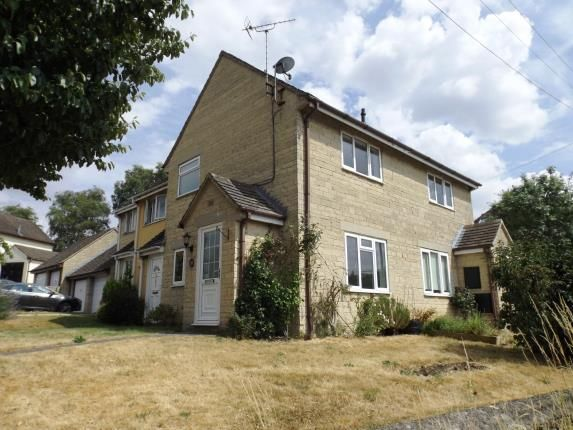 Thumbnail Terraced house for sale in Longtree Close, Tetbury, Gloucestershire