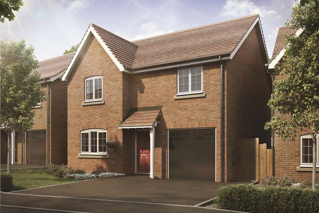 Thumbnail Detached house for sale in The Green, Ullesthorpe, Lutterworth