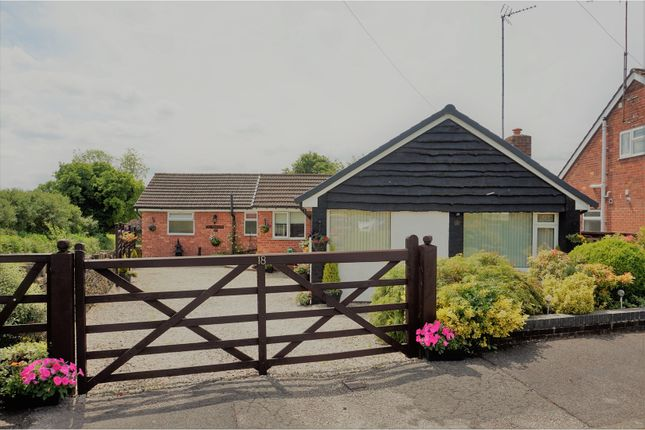 Thumbnail Detached bungalow for sale in Nether Close, Wingerworth, Chesterfield