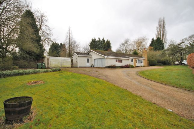Thumbnail Detached bungalow for sale in Lutterworth Road, Bramcote, Nuneaton