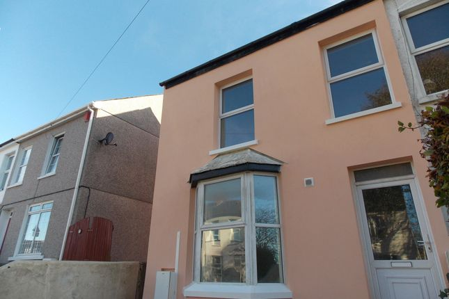 Thumbnail Flat to rent in Kings Road, Camborne, Cornwall