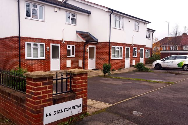 Thumbnail Flat to rent in Stanton Close, Earley, Reading