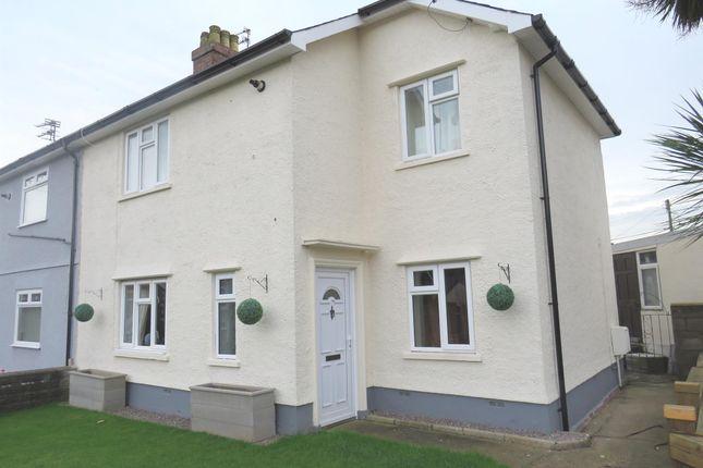 Thumbnail Semi-detached house for sale in Heol Pen Y Parc, Llantrisant, Pontyclun