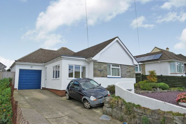 Thumbnail Detached bungalow for sale in Ridgeway Road, Newton Abbot