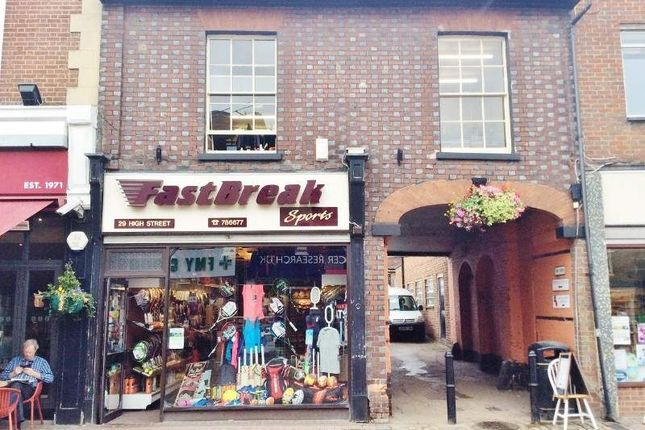 Thumbnail Retail premises for sale in 29 High Street, Chesham
