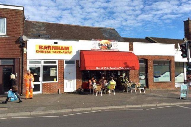 Thumbnail Restaurant/cafe for sale in 38 Barnham Road, Barnham