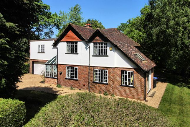 Thumbnail Detached house for sale in The Ridgeway, Brookwood, Woking