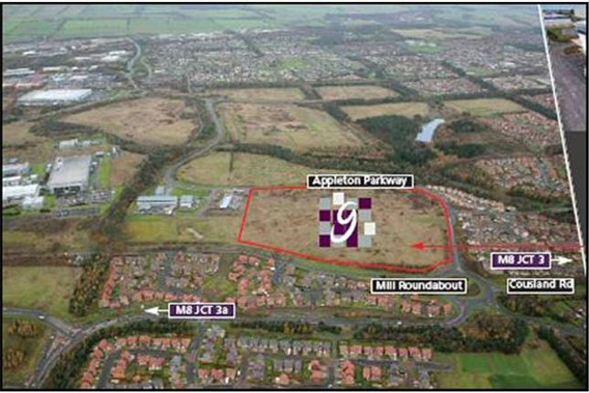Thumbnail Commercial property for sale in Proposed Development, Eliburn Park, Livingston, West Lothian, Scotland
