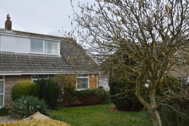 Thumbnail Semi-detached bungalow to rent in Mendip Road, Livermead, Torquay, Devon