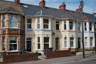 Thumbnail Terraced house to rent in Withycombe Road, Exmouth