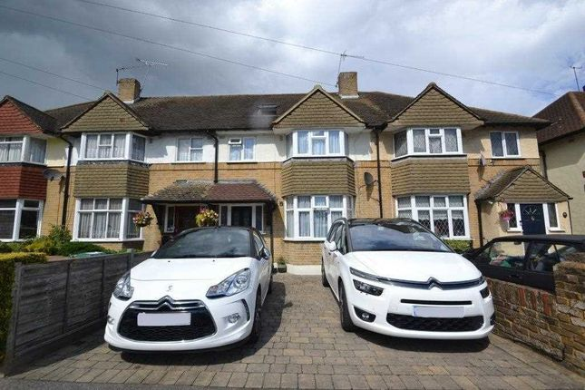 Thumbnail Terraced house for sale in Heathcroft Avenue, Sunbury-On-Thames