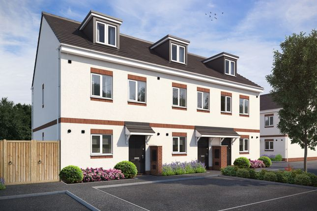 3 bed terraced house for sale in Plot 4 - The Thetford, Mannings Farm, Drybrook, Gloucestershire GL17
