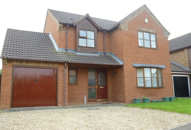 Thumbnail Detached house to rent in Clarendon Way, Glinton, Peterborough