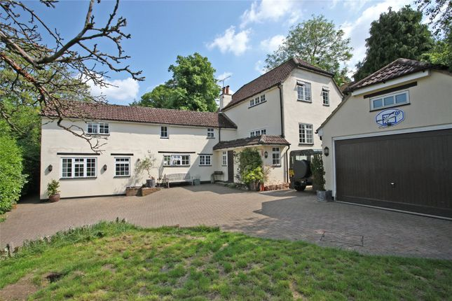 Thumbnail Detached house for sale in Upper Bourne Lane, Wrecclesham, Farnham, Surrey