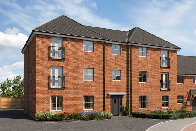 Thumbnail Flat for sale in Martin Drive, Kenilworth