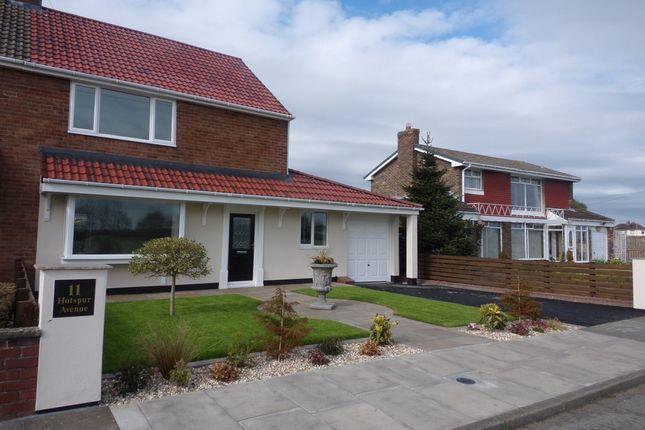 Thumbnail Semi-detached house for sale in Hotspur Avenue, Bedlington