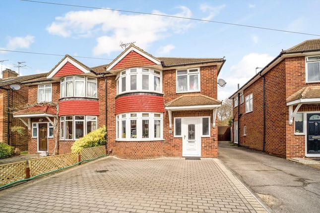 Thumbnail Semi-detached house for sale in Gaston Way, Shepperton