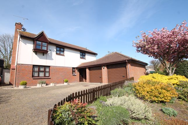 Thumbnail Detached house for sale in Keswick Close, Felixstowe