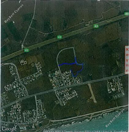 Land for sale in Agia Thekla, Famagusta, Cyprus
