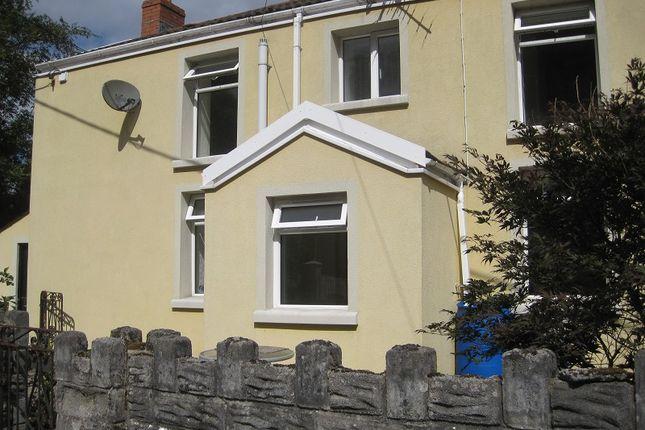 Thumbnail End terrace house to rent in Heol Gwys, Upper Cwmtwrch, Swansea