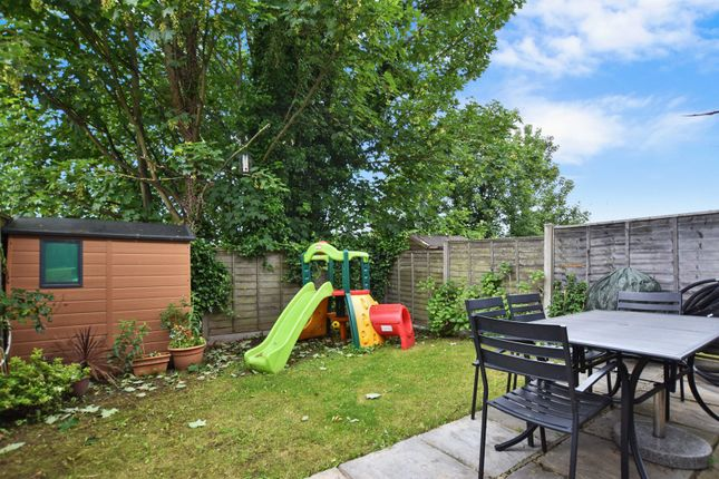 Garden of Madoc Close, London NW2