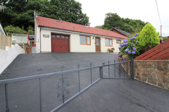 Thumbnail Detached bungalow for sale in St. Davids Avenue, Woodfieldside, Blackwood