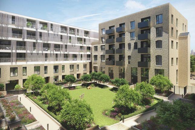 CGI Exterior of 58 Grange Road, Bermondsey SE1