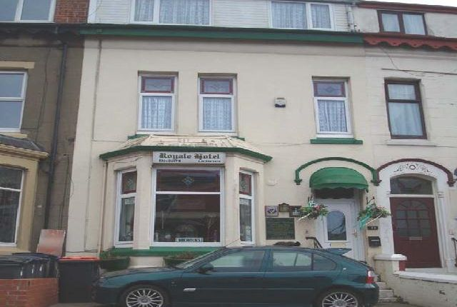 Thumbnail Hotel/guest house for sale in Regent Road, Blackpool