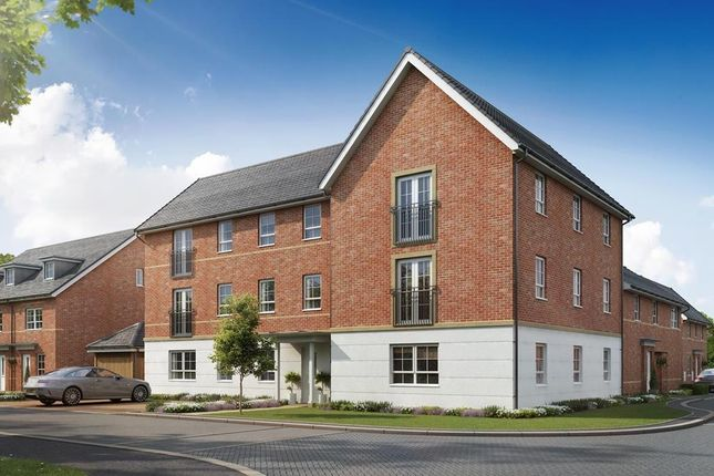Outside View Of CGI Ambersham 2 Bedroom Apartment