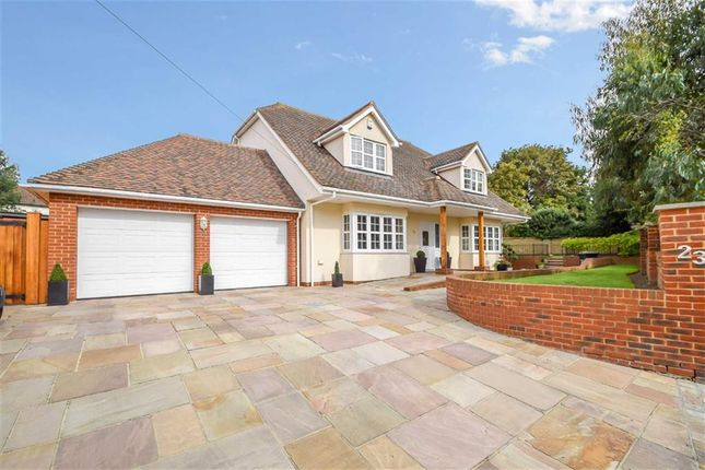 Thumbnail Detached house for sale in Britannia Gardens, Westcliff-On-Sea, Essex