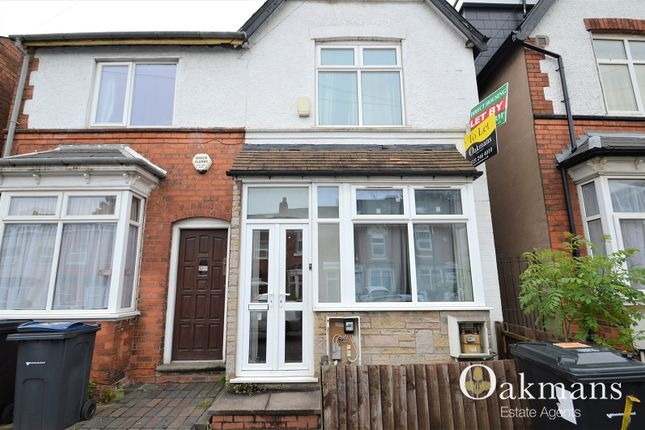 Thumbnail Semi-detached house for sale in Heeley Road, Birmingham, West Midlands.