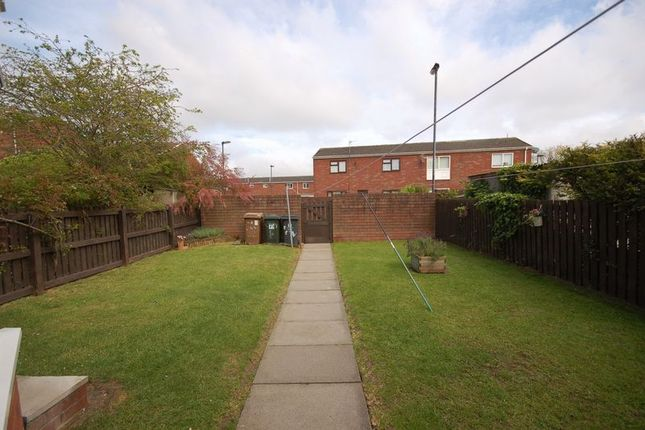 Rear Garden of Goodwood, Killingworth, Newcastle Upon Tyne NE12