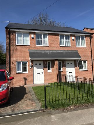 Thumbnail Semi-detached house to rent in Piccadilly, Bulwell, Nottingham
