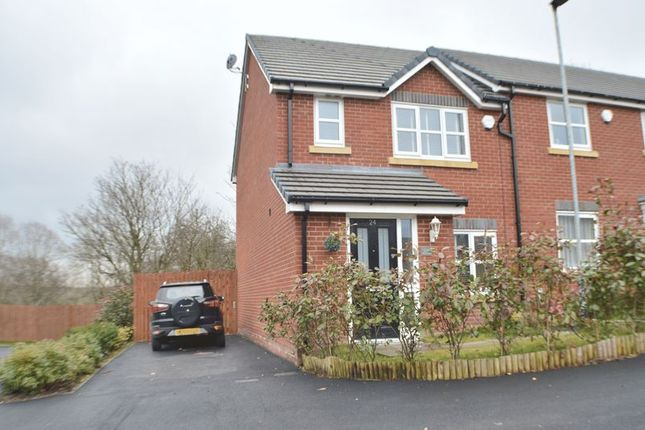 Thumbnail Semi-detached house for sale in Brook Close, Hyde